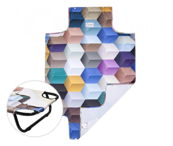 Capa para Cama Suspensa - Cubos - Brandina